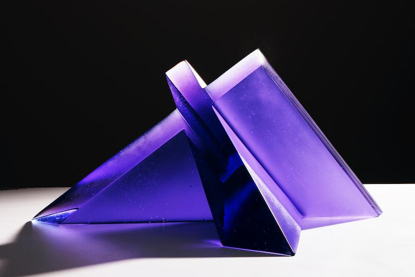 Emma Camden, The Cross, 2009, cast glass