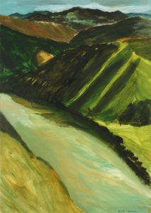Paul Rayner, Untitled (Whanganui Landscape)