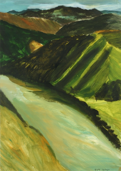 Paul Rayner, Untitled (Whanganui Landscape)