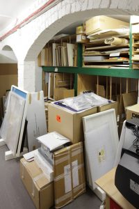 Collection storage at the Sarjeant Gallery, Pukenamu Queen's Park