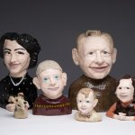Paul Rayner, Family Portrait, 2013, ceramic. Courtesy of the artist.