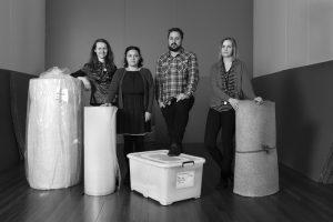 Kimberley Stephenson, Te Maari Barham, Ben Davis, Jessica Kidd.
