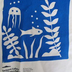 Screen-print tote bag, Westmere School, 2016
